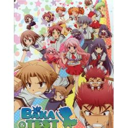 Baka And Test: Season Two - Limited Edition (Blu-ray + DVD Combo) (Blu-ray )