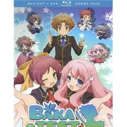 Baka And Test: Summon The Beasts - Alternative Art (Blu-ray + DVD Combo) (Blu-ray  2010)