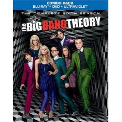 Big Bang Theory, The: The Complete Sixth Season (Blu-ray + DVD + UltraViolet) (Blu-ray  2012)