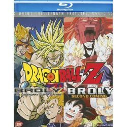 Dragon Ball Z: Broly / Dragon Ball Z: Broly Second Coming (Double Feature) (Blu-ray )