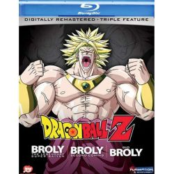 Dragon Ball Z: Brolly - The Legendary Super Saiyan / Brolly: Second Coming / Bio Brolly (Triple Feature) (Blu-ray )