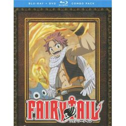 Fairy Tail: Part One (Blu-ray + DVD Combo) (Blu-ray  2009)