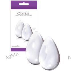 Crystal Large Glass Eggs Clear jajko
