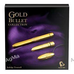 Rocks-Off - Zestaw złotych wibratorów - Gold Bullet Collection