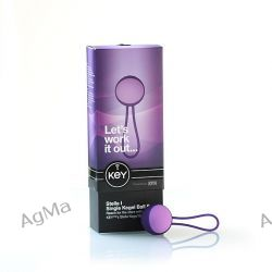 Kulki gejszy Key by Jopen - Stella I Kegel Ball Set Purple
