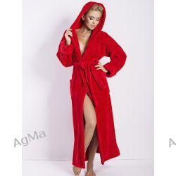 DKaren Diana Red długi szlafrok