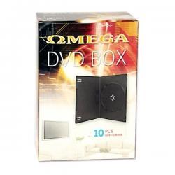 PUDEŁKO DVD   7MM OMEGA VIDEO BOX ULTRA SLIM 1 BLACK *10...