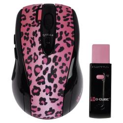 G-CUBE MYSZ/MOUSE WIRELESS OPTICAL G4L-70PF LuxLeopard Pink # &...