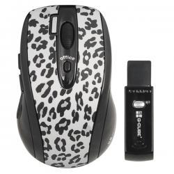 G-CUBE MYSZ/MOUSE WIRELESS OPTICAL G4L-70S LuxLeopard White  # &...