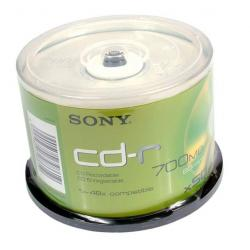 SONY CD-R 700MB 48X CAKE*50...