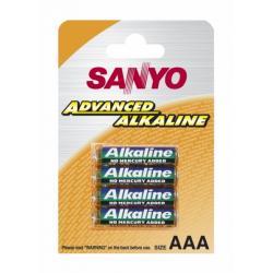 SANYO BATERIE ALKALICZNE LR3/AAA 4SZT/BLISTER LR03/4B...