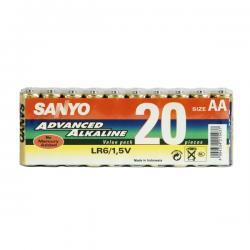 SANYO BATERIE ALKALICZNE LR6/AA 20SZT/SHRINK LR06-20SP...