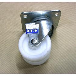 Kółko 2x50 mm na płytkę [2-0039] Wózki inwalidzkie