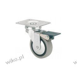 Kółko 40 mm płytka hamulec [TW040 PG PH] Meble