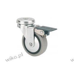 Kółko 40 mm otwór hamulec [TW040 PG OH] Dom i Ogród
