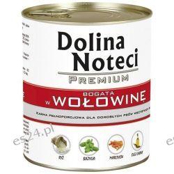 Dolina Noteci Premium - karma dla psów dorosłych (Wołowina)- 800g