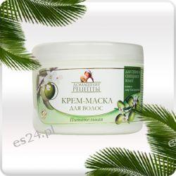 Odżywcza maska do włosów Oliwa z oliwek i Olej laurowy