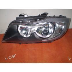 BMW 3 E90 E-90 Lampa przednia lewa i prawa