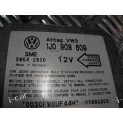 STEROWNIK AIR BAG SKODA VW NEW BEETLE 1J0909609