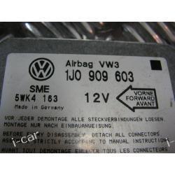 VW SHARAN 95-00 SENSOR AIRBAG 1J0909603 sterownik