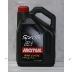 Motul specific 506.01-503-506 VW  - 5L- POZNAŃ (i