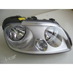 prawa lampa VW Caddy + silniczek + dekle