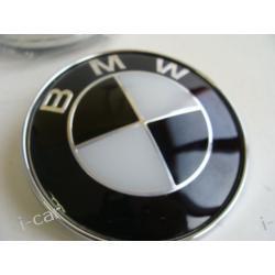 BMW - czarny emblemat logo znaczek