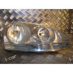 VW Golf V prawa lampa - przód