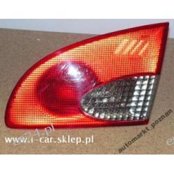 Toyota Avensis kombi w klape prawa lampa