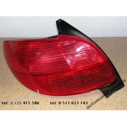 Peugeot 206 LEWA lampa tył ORYGINAŁ