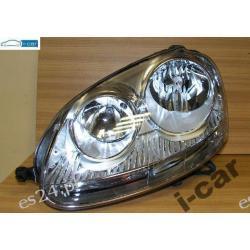 VW GOLF V ORYGINAŁ kompletny LEWY reflektor