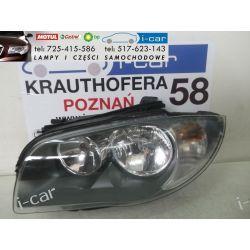 BMW 1 E87- LEWY REFLEKTOR -ORYGINAŁ