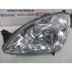 Honda crv lewa lampa z białym kierunkowskazem reflektor