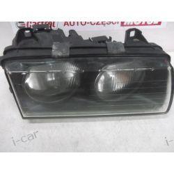 BMW E36 prawa oryginał ZKW lampa przód