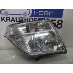Nissan Navara reflektor xenon ksenon prawa lampa