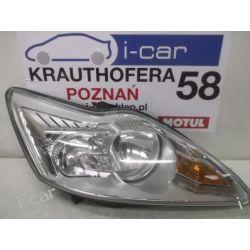 Ford Focus II lift prawa srebrna lampa europa