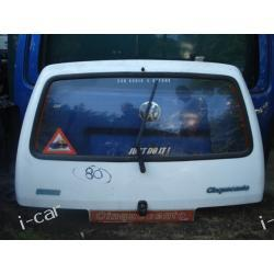 Fiat Cinquecento klapa tył ORYGINAŁ - kompletna