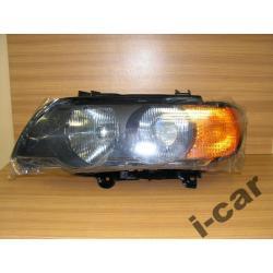 BMW X5 nowa lampa xenon oryginal HELLA + żarnik
