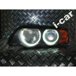 BMW X5  Ringi Angel Eyes + montaż - RINGI CCFL