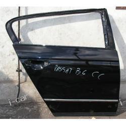 VW Passat CC drzwi prawe prawy tył