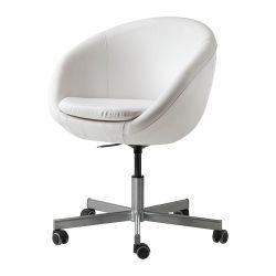 SKRUVSTA Krzesło obrotowe, Idhult biały