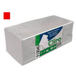 Ręcznik papierowy ZZ CLIRO szary a'200  Środki czyszczące
