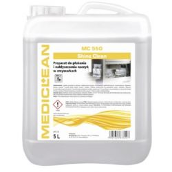 MEDICLEAN MC 550 SHINE CLEAN 5L NABŁYSZCZANIE Preparaty do zmywarek