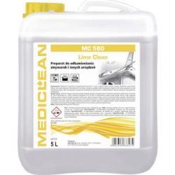 MEDICLEAN MC 580 LIME CLEAN 5L ODKAMIENIACZ DO ZMYWAREK Odkamieniacze
