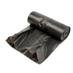 WORKI NA ŚMIECI 60L CZARNE LDPE 10 SZTUK Kosze i worki na śmieci
