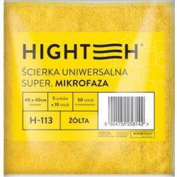 ŚCIERKA UNIWERSALNA SUPER MIKROFAZA ŻÓŁA 1 SZTUKA 40x40