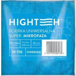 ŚCIERKA UNIWERSALNA SUPER MIKROFAZA NIEBIESKA 1 SZTUKA 40x40