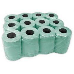 Ręcznik Papierowy MINI Zielony 72 Rolki Pozostałe