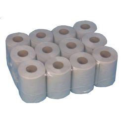 Ręcznik Papierowy MINI Szary 72 Rolki Pozostałe