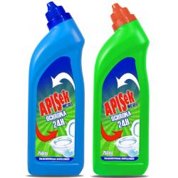Żel do WC APISEK 750 ml Dezynfekcja. Utrzymanie czystości